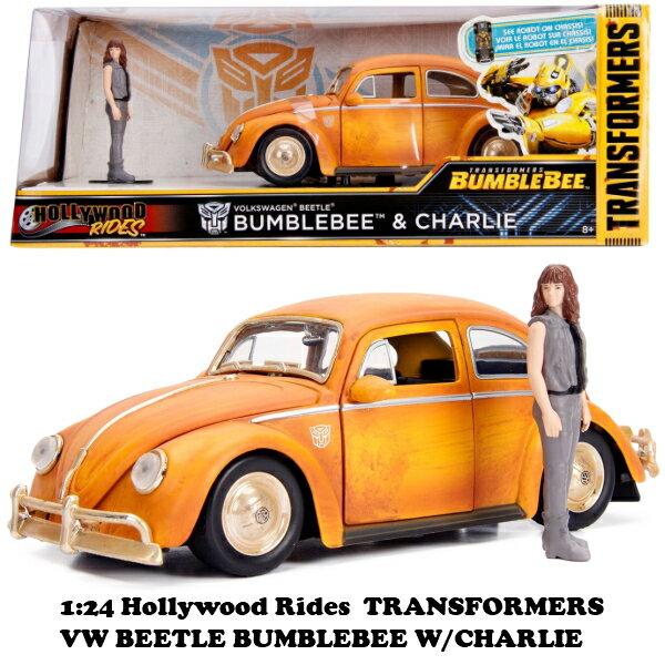 車, ミニカー・トイカー jada toys 124 TRANSFORMERS BUMBLEBEE 1971 VW BEETLE CHARLIE