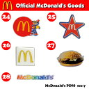McDonald's PINS series 7【マクドナルド ピンズ】アメ雑貨