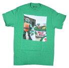 TURTLESSHELLSHINETシャツT297-MグリーGREENアメリカメンズMサイズタートルズTシャツタートルズグッズアメキャラ—Tシャツメンズ半袖TシャツUネックアメカジアメリカンカジュアルTURTLEST-SHIRTロゴ印刷プリント映画Tシャツ