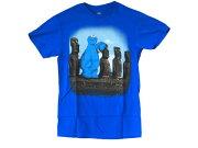 TシャツSESAME178T−M/セサミストリートCookieMonsterクッキーモンスター【USMサイズ】【JPメンズLサイズ】