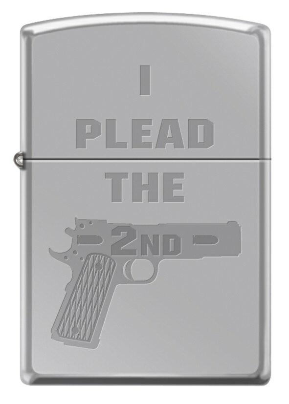 喫煙具, ライター 100OFFZIPPO I PLEAD THE 2ND Made in U.S.A
