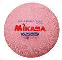 ミカサ(mikasa) ソフトバレーボール 糸巻きタイプ ピンク (公認球 一般 ファミリー トリム 重量約210g 円周約78cm) MS78DXP 1