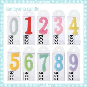 ナンバーキャンドル-パステル-【誕生日】【数字】【ギフト】【プレゼント】【誕生日ケーキ】【ろうそく】【亀山】【kameyama】