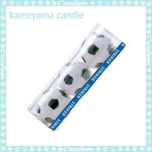 サッカーボールキャンドル-3個入-【誕生日】【ギフト】【プレゼント】【誕生日ケーキ】【ろうそく】【亀山】【kameyama】