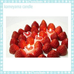 ハートキャンドル-3個入-【誕生日】【数字】【ギフト】【プレゼント】【誕生日ケーキ】【ろうそく】【亀山】【kameyama】