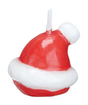 サンタハット3個入【クリスマス】【パーティー】【誕生日】【ギフト】【プレゼント】【誕生日ケーキ】【ろうそく】【亀山】【kameyama】