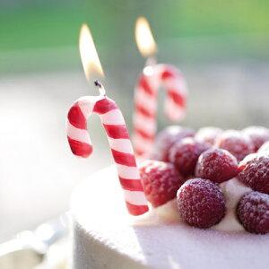 キャンディーステッキ1個入【クリスマス】【パーティー】【誕生日】【ギフト】【プレゼント】【誕生日ケーキ】【ろうそく】【亀山】【kameyama】