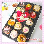 まるでケーキの宝石箱☆プチケーキ♪(13個入)