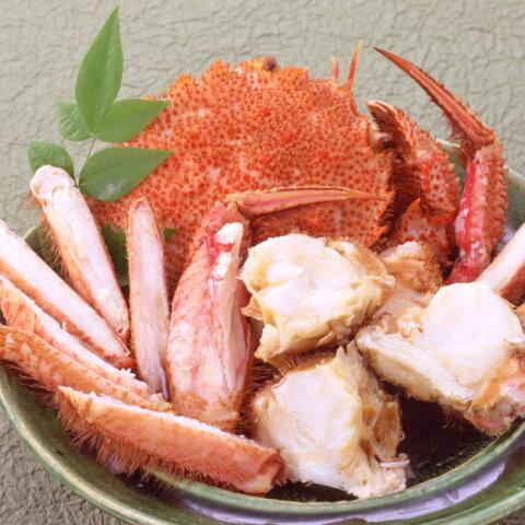 冷凍毛蟹650g×3尾