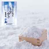 礼文島船泊産天然塩うすゆき