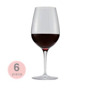 【送料無料】ペルル ボルドー ワイングラス 6脚セット Perle 赤ワイン レッドワイン 625cc 食洗機可