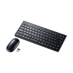 サンワサプライ マウス付きワイヤレスキーボード SKB-WL32SETBK