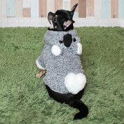 ドッグウェアコアラ小型犬変身もこもこパーカーコアラ風ドックウェアフード付パーカーチワワトイプードルパグ柴SMLXLもこもこ散歩しっぽハート犬服春秋ペット用ウエアkr207