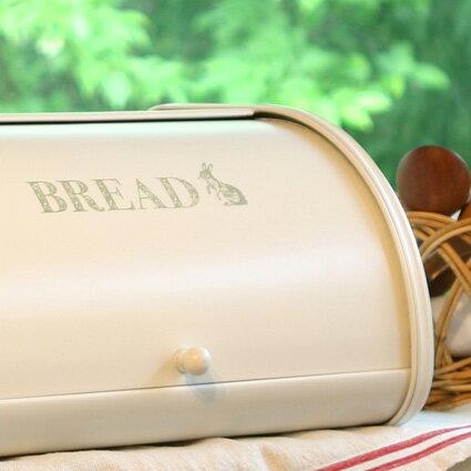 【Homestead ホームステッド】 ブレッドケース Sサイズ うさぎ ローラートップブレッド缶 パンケース・ブレッドビン・ホームステッド・収納 。