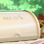 【Homestead】ブレッドケースSサイズうさぎローラートップブレッド缶パンケース・ブレッドビン・ホームステッド・収納。