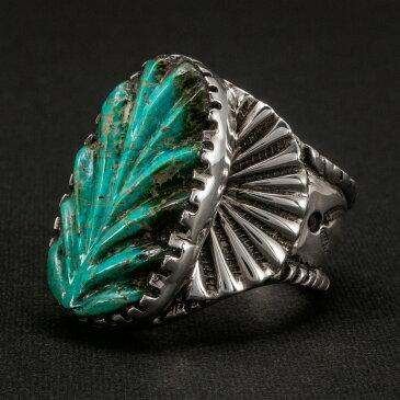 コインシルバー リングCOIN SILVER RING インディアンジュエリー 指輪 FUNNY ファニー ターコイズ