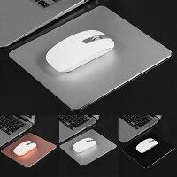 マウスパッドアルミニウム極薄パソコンPC周辺機器送料無料