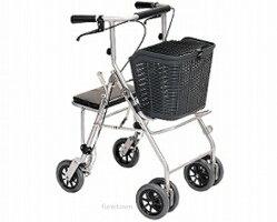 【送料無料】【睦三】カーレマン安定性と操縦性のすぐれた安心の四輪歩行補助車【非課税】