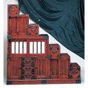 受注生産 民芸家具 和 民芸箪笥 階段チェスト150cm幅 「筑後民芸...