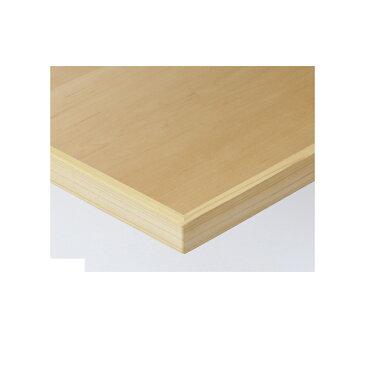 【 テーブル天板のみ 】テーブル天板 天然木 メープル板目突板 木ブチ付 T-0051 W600×D600×t40 【 テーブル天板 パーツ 机 DIY 】