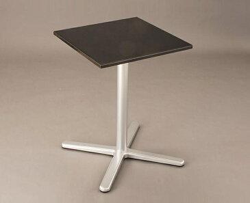 【 カフェテーブル コーヒーテーブル 】 テーブル 天然大理石[エンペラーブラック] W500×D500(脚:D-2) 【ワークス】