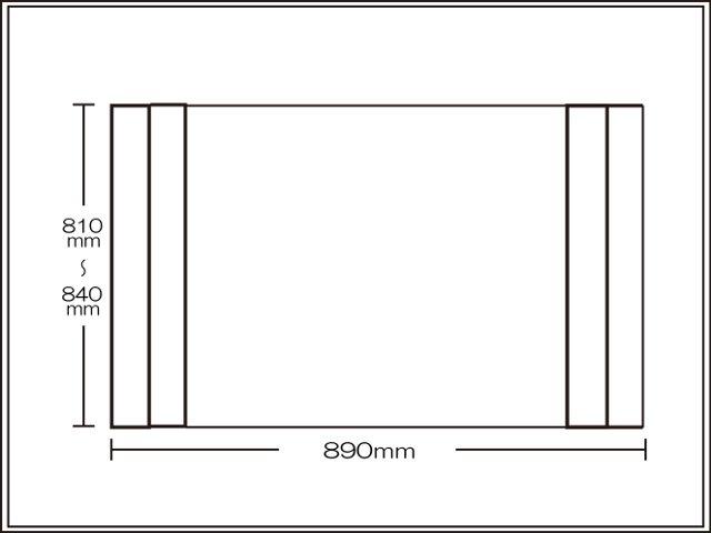 オーダーメイド 風呂ふた 抗菌 折りたたみタイプ 81 ~ 84 × 89 cm 《風呂蓋 ふろふた 風呂 フタ 蓋 ふた 銀イオン ミューファン 純銀》_10P03Dec16
