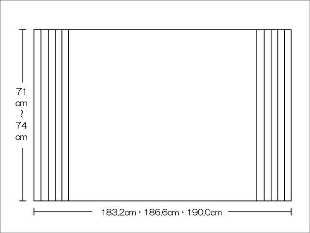 【風呂ふた送料無料】東プレ くるくる巻ける巻きふた オーダーシャッターふた71~74×183.2・186.6・190.0cm_10P03Dec16