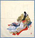 額装して絵としても楽しめます 小風呂敷ハンカチ 清少納言(42cm)小さい風呂敷ふろしき【楽...