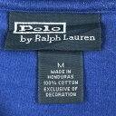 【古着】 RALPH LAUREN ラルフローレン ワンポイントTシャツ ブルー系 メンズM 【中古】 n004973 3