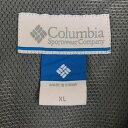 【古着】 コロンビア チェックシャツ ナイロン素材 メッシュ裏地 ロールアップ袖 長袖 ブルー系 メンズXL n013277 3