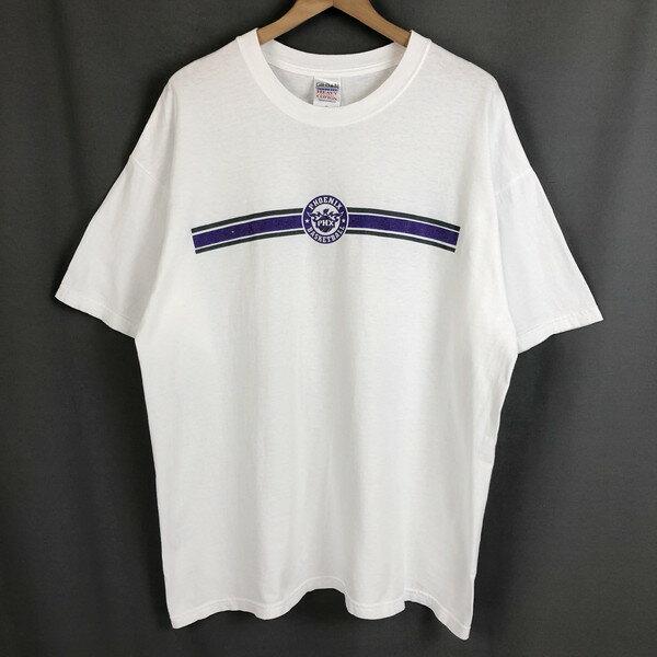 【古着】 ロゴプリントTシャツ NBA フェニックス・サンズ バスケットボール ホワイト系 メンズXL 【中古】 n020022