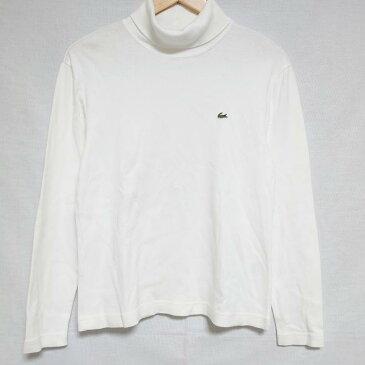 ラコステ LACOSTE Tシャツ 長袖 ハイネックロンT【USED】【古着】【中古】 10010438
