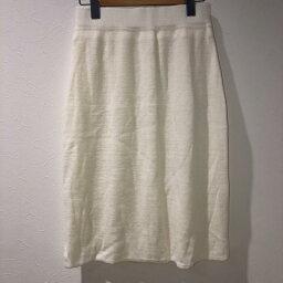 GLACIER グラシア ひざ丈スカート スカート Skirt Medium Skirt ニットスカート【USED】【古着】【中古】10031401