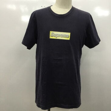 Supreme シュプリーム 半袖 Tシャツ T Shirt Supreme 無地 ボックスロゴ【USED】【古着】【中古】10033853