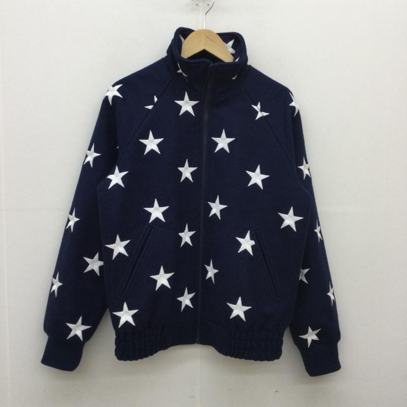 メンズファッション, コート・ジャケット Supreme Jacket 16FW Stars Zip Stadium JacketUSED10045130