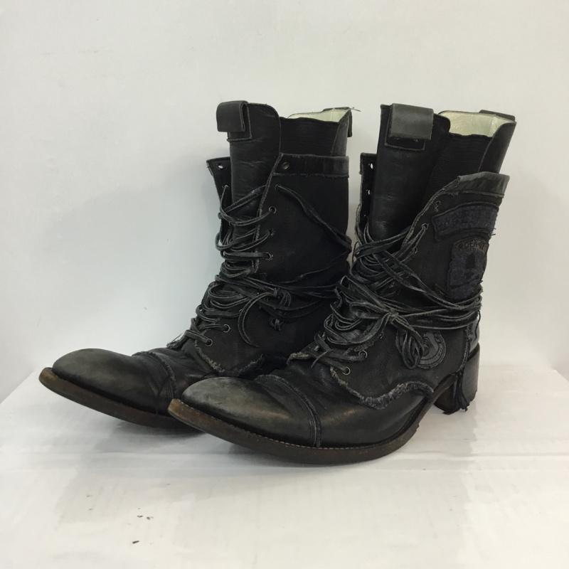 ブーツ, サイドゴア HIROMU TAKAHARA Boots 70010017 ROEN07 USED10052410