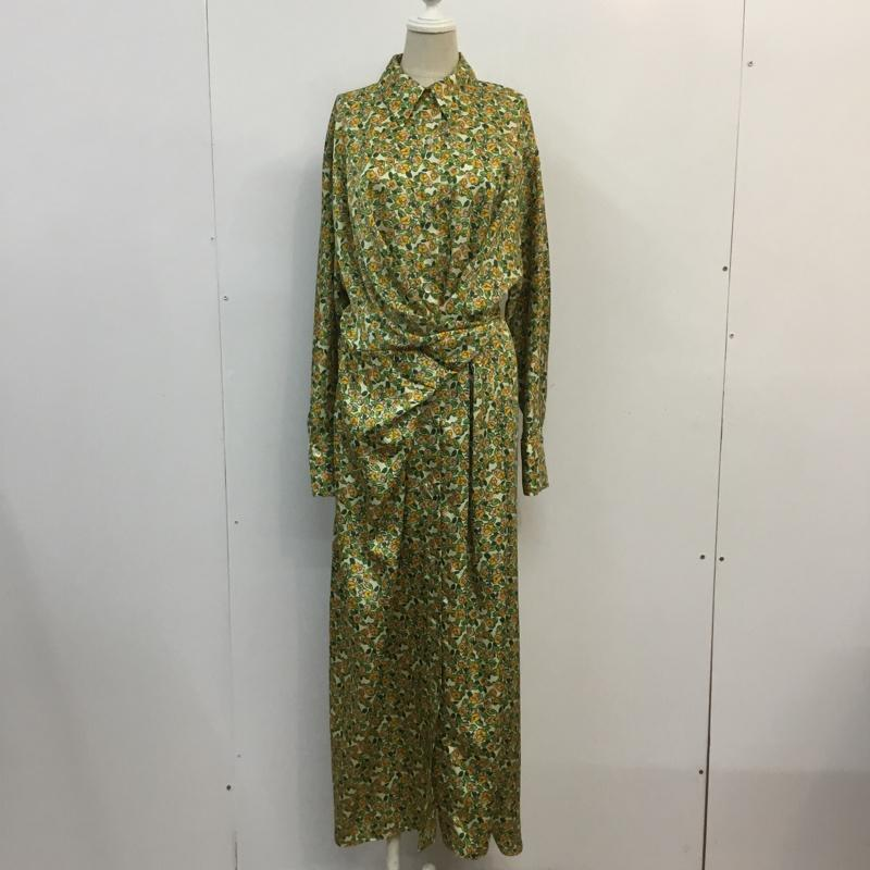 レディースファッション, その他 ZARA One-Piece Long Skirt USED10057223