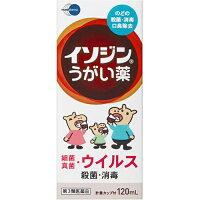 【第3類医薬品】イソジンうがい薬 120ml