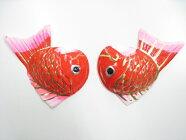 正月飾り鯛【特上張子鯛3寸10対入】しめ飾り材料しめ縄材料〆飾り卸価格
