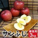 【2019/予約】 贈答用 りんご サンふじ 3キロ 9玉〜