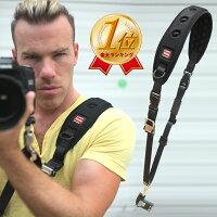 カメラストラップ一眼レフ一流プロカメラマンが選ぶ速写ストラップ(スリムタイプ)斜めがけストラップ