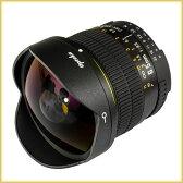 【超広角 魚眼レンズ】 6.5mm F3.5 Opteka OPT65 (Nikon/Canon EOS 用) 【国内正規品/日本語説明書/5年保証付き】 オプテカ 高解像 非球面 FishEye [ニコン/キャノン用 広角レンズ]