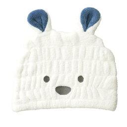 【Zooie/ズーイ】キッズキャップ 白クマ ホワイト(ベビーキャップ)【メール便対応】