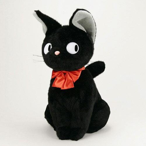 魔女の宅急便 黒猫のジジ(座) LL(特大) ぬいぐるみ
