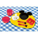 【Disney/ディズニー】ミッキーマウス アイコン ランチプレート ベビー食器セット(電子レンジOK/対象月齢5ヶ月〜/食洗機・乾燥機OK)[宅配便配送(メール便とネコポスは不可)]