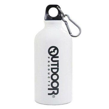 【OUTDOOR PRODUCTS】 アウトドア アルミ ボトル (水筒) ホワイト 500ml[宅配便配送(メール便とネコポスは不可)]