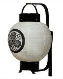 【盆提灯・盆ちょうちん】【送料無料!】弓張提灯「新九子弓張」ろうそく電池灯セット
