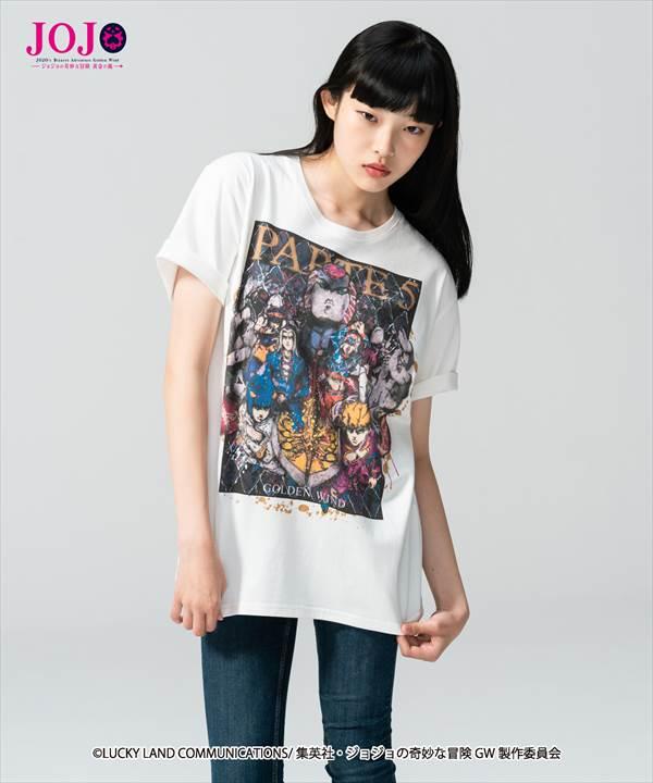 トップス, Tシャツ・カットソー glambGolden Wind T T JOJOvol.3