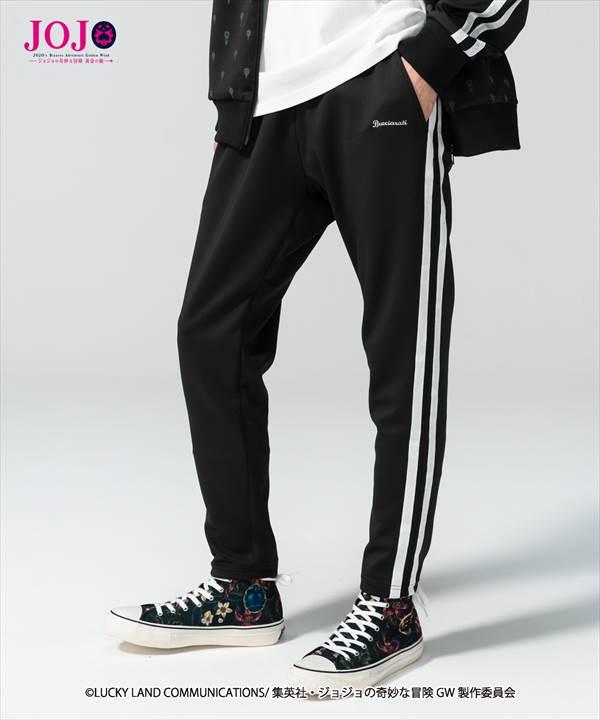 メンズファッション, ズボン・パンツ !glambBruno Bucciarati jersey pants JOJOvol.3