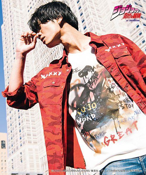 トップス, Tシャツ・カットソー glambJosuke Higashikata T T JOJO